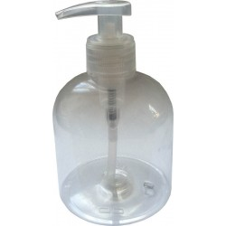 Flacon pompe plastique vide 300 ml