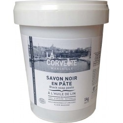 savon noir liquide traditionnel parfum amande la corvette bidon de 5 l. Black Bedroom Furniture Sets. Home Design Ideas
