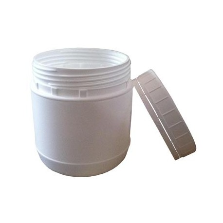 Pot plastique blanc (PEHD) 500 ml