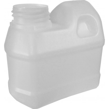 Jerrican 500 ml plastique naturel non gerbable